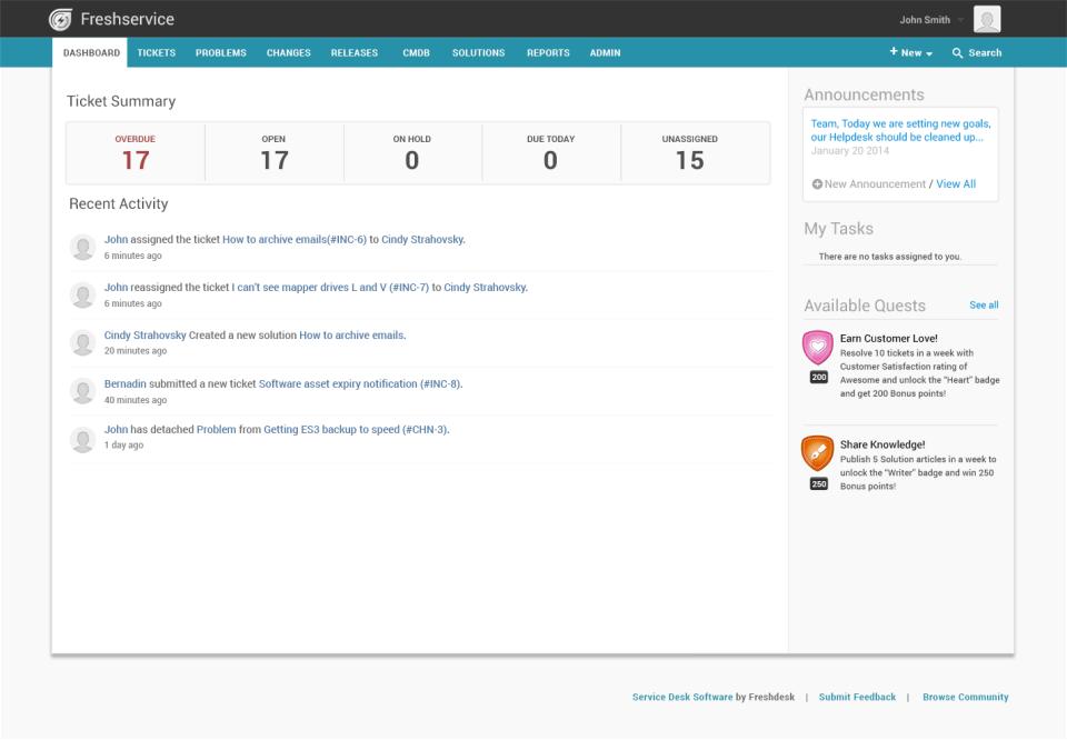 Freshservice de pantalla-2