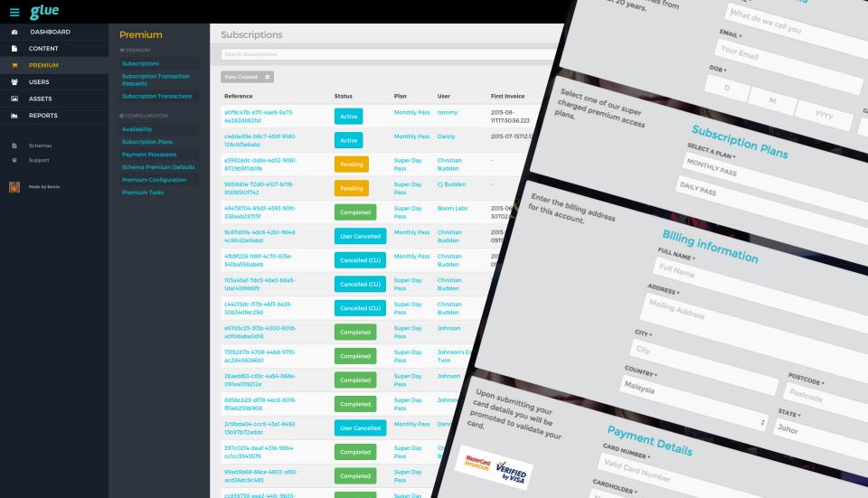 Pegamento Media Publishing System-pantalla-1