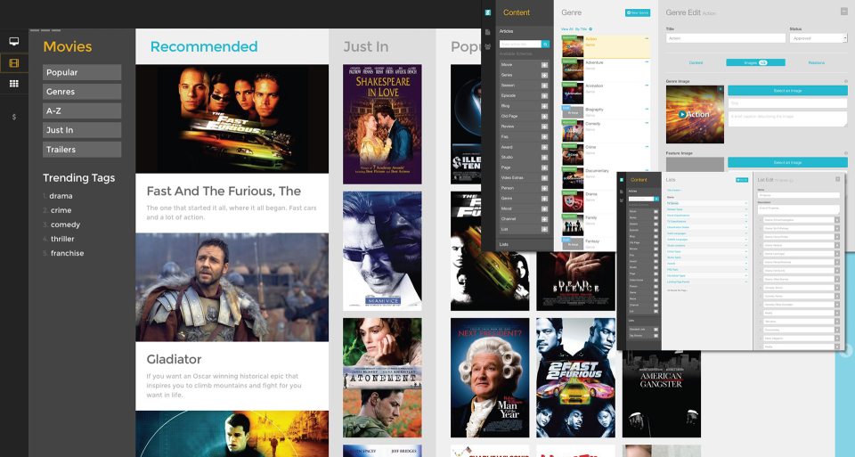 Pegamento Media Publishing System-pantalla-3