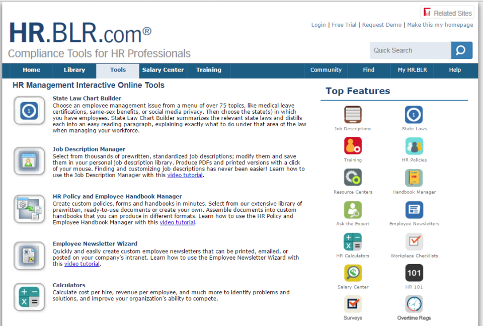 HR.BLR.com de pantalla-4