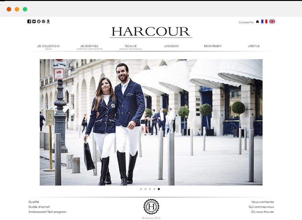 """""""1 mes después del lanzamiento de la página que hemos registrado más de 30 000 € de volumen de negocios"""" - William Benguigui - Fundador Harcour"""