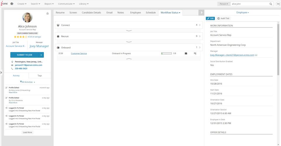 iCIMS Adquisición de Talento Suite-pantalla-1