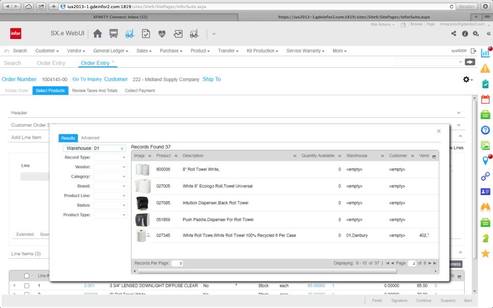 ERP Infor para la distribución de pantalla-2