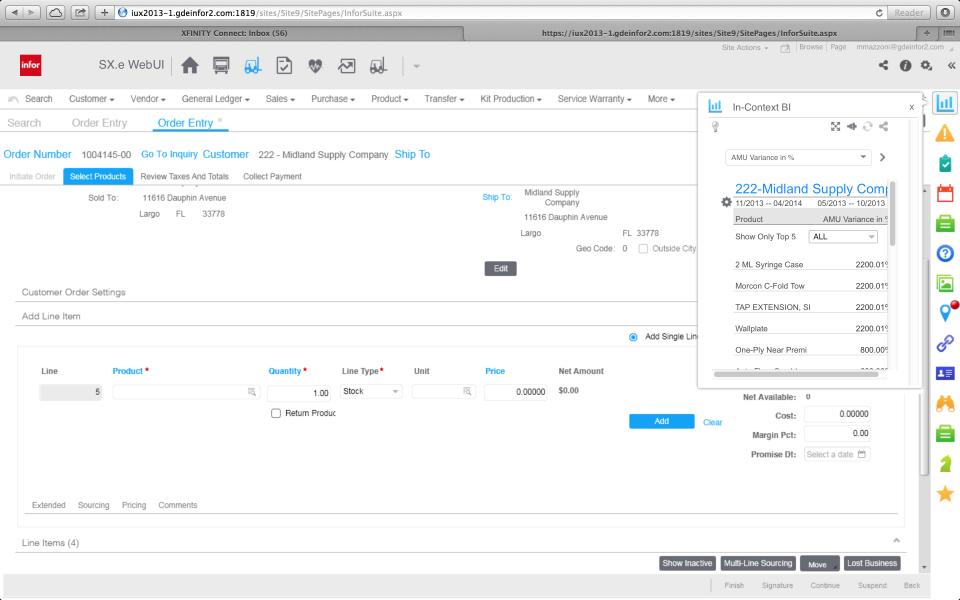ERP Infor para la distribución de pantalla-3