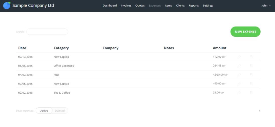Invoiceberry.com de pantalla-2