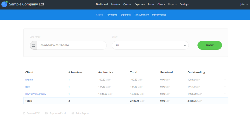 Invoiceberry.com de pantalla-4