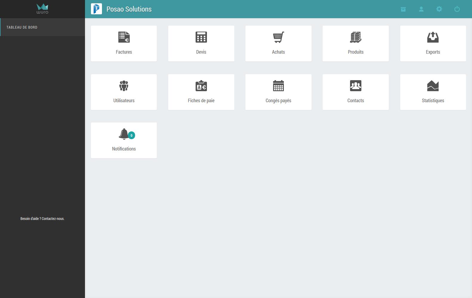 wuro: Conocimientos básicos (tutoriales, demos), el estricto control de acceso a los servidores, facturas Envío de correo electrónico