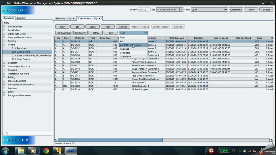 Microlistics WMS-pantalla-1
