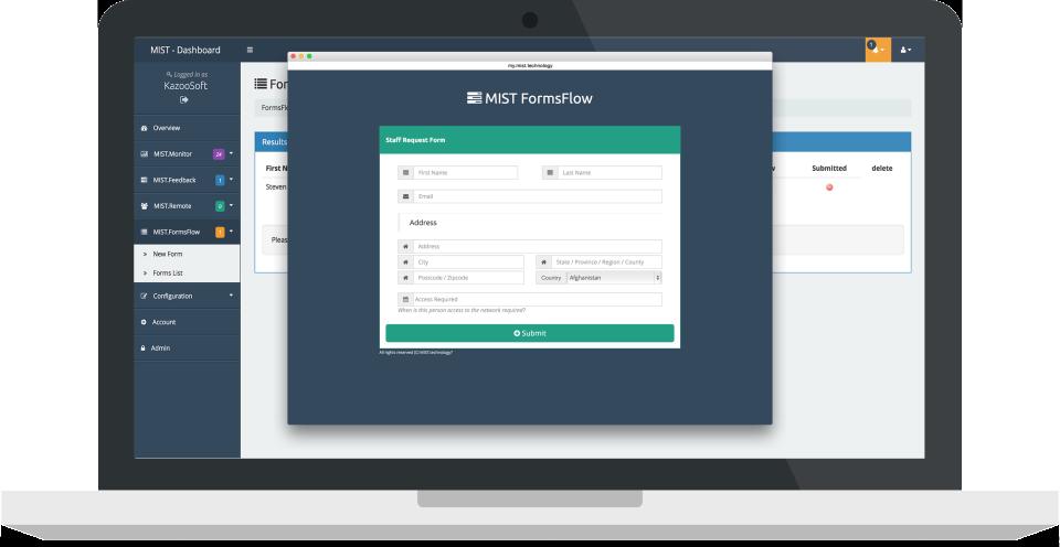 MIST.FormsFlow de pantalla-2
