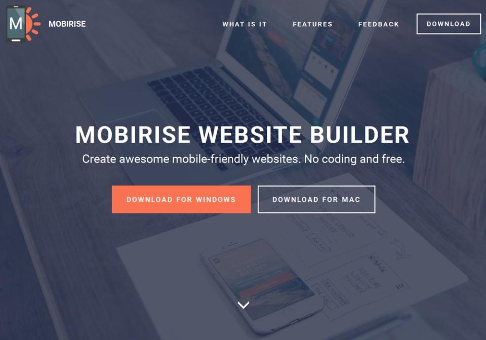 MobiRise Website Builder-pantalla-0