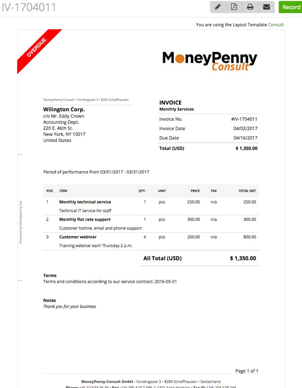MoneyPenny.me de pantalla-2