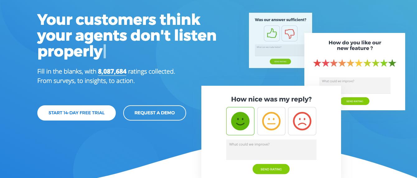 Opiniones Nicereply: Software de La satisfacción del cliente - Appvizer