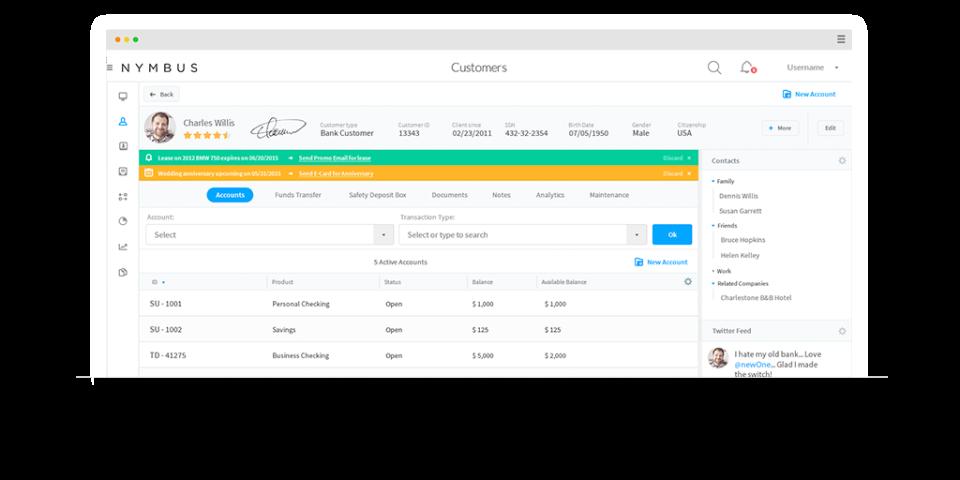 Nymbus Core Banking-pantalla-2