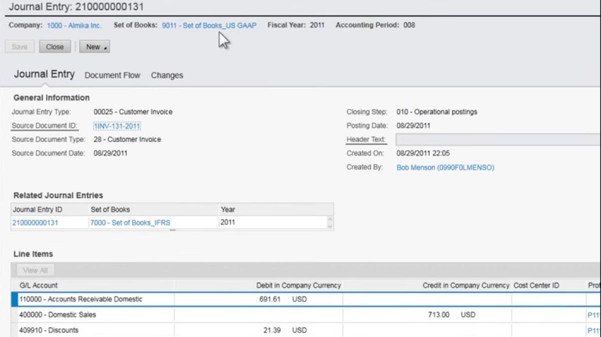 De SAP Business ByDesign salinas Servicios