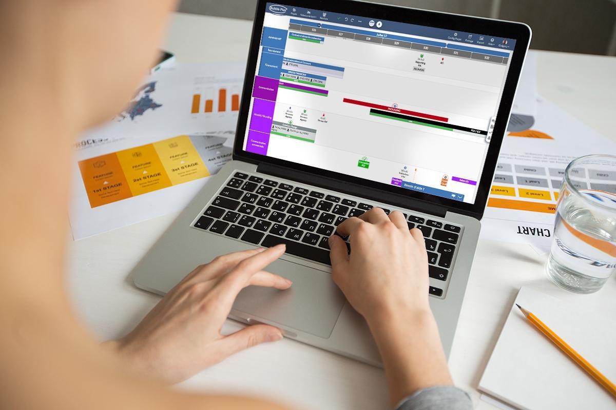 Opiniones Bubble Plan: Planificación visual y automatización de la gestión proyecto - appvizer
