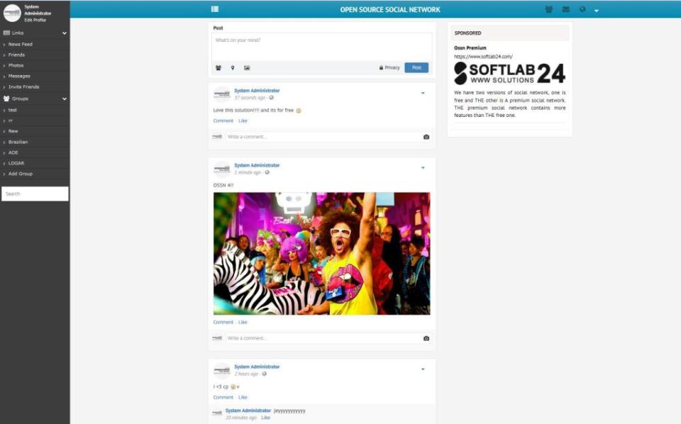 Social Open Source Network-pantalla-1