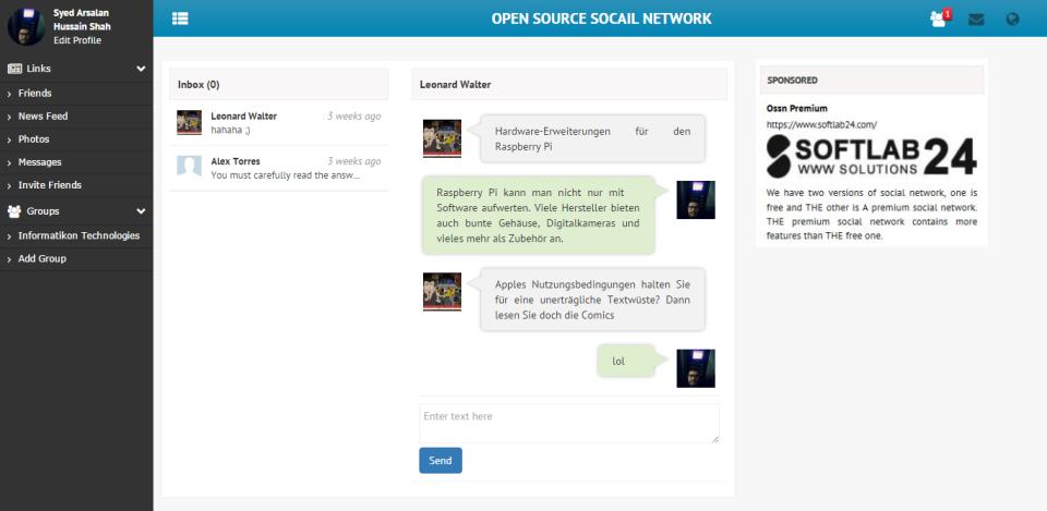 Social Open Source Network-pantalla-3