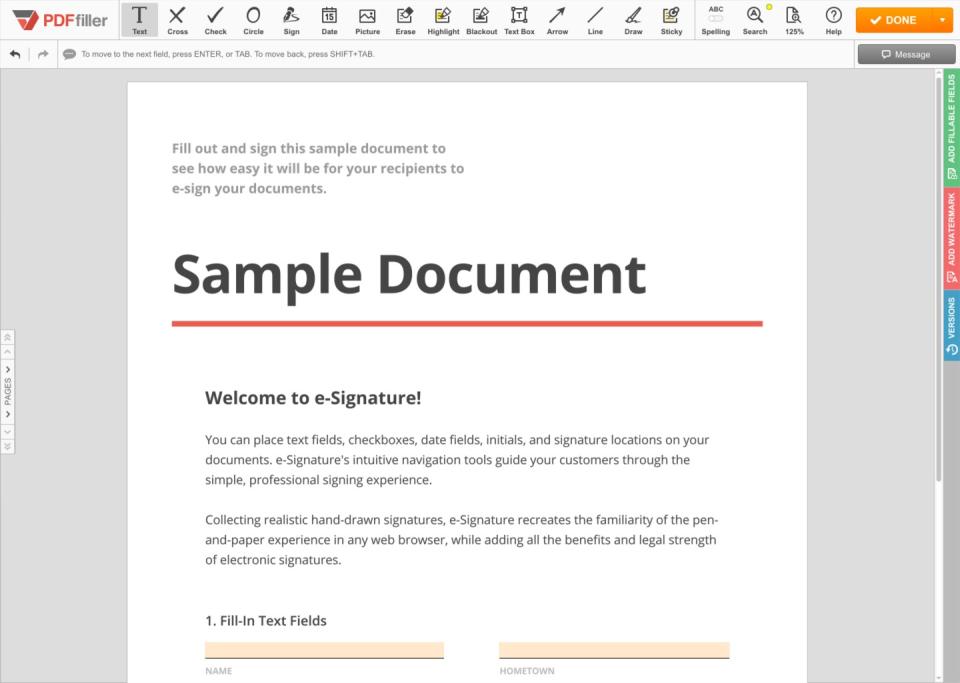 PDFfiller de pantalla-1