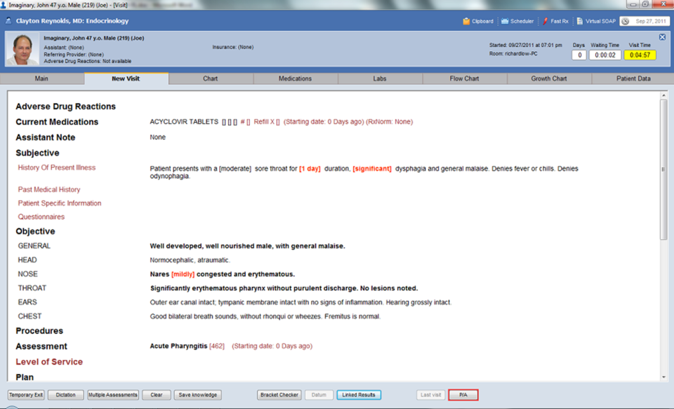 Praxis EMR-pantalla-0