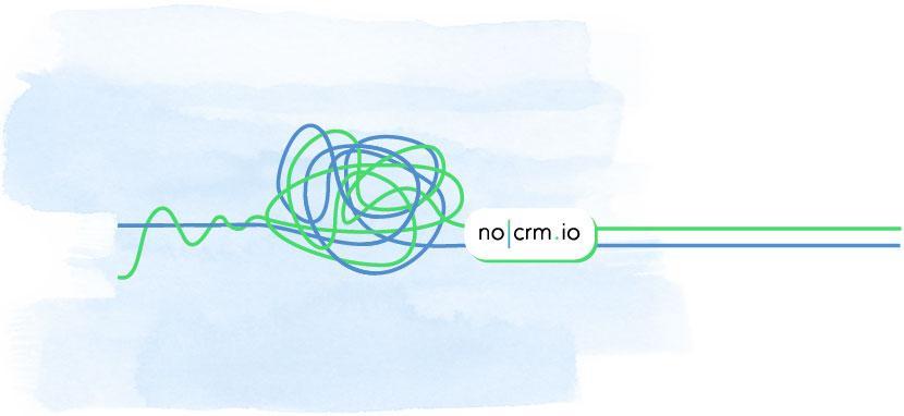 no CRM.io está construido con la simplicidad en su núcleo. Olvídate de invertir tiempo en complejas y largas capacitaciones para tu equipo como es muy común en los sistemas tradicionales de CRM.