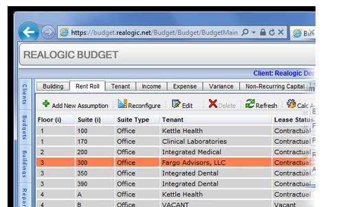 Realogic presupuesto de pantalla-0