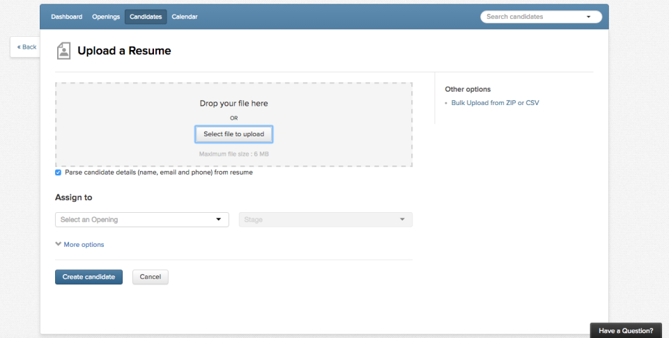 Recruiterbox de pantalla-3