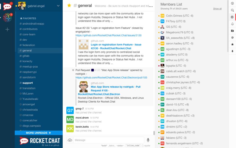 Rocket.Chat de pantalla-2