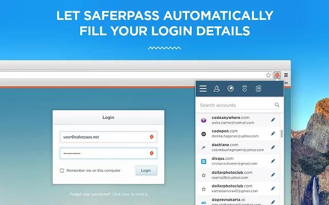 SaferPass de pantalla-1
