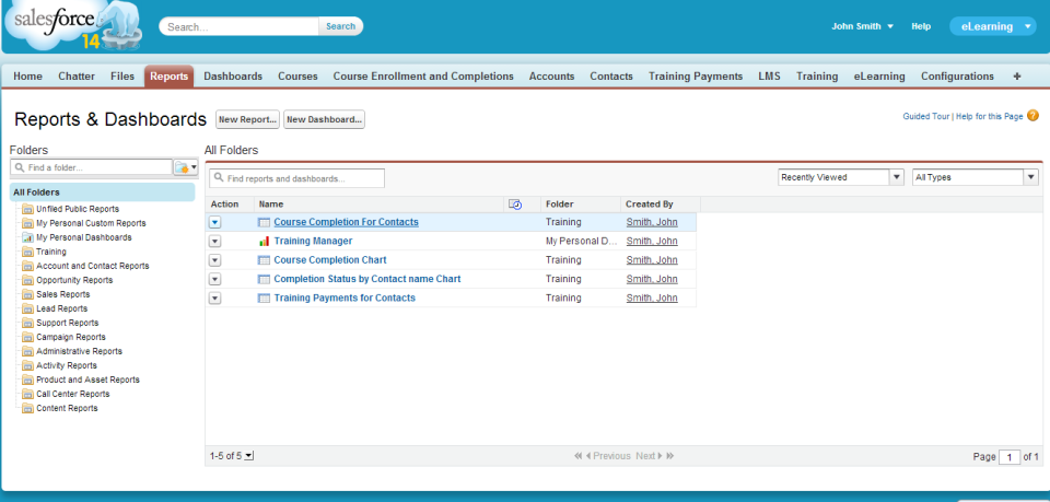 Salesforce Embedded LMS-pantalla-0