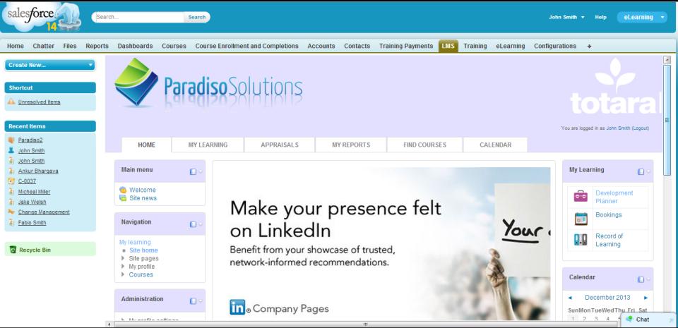 Salesforce Embedded LMS-pantalla-1