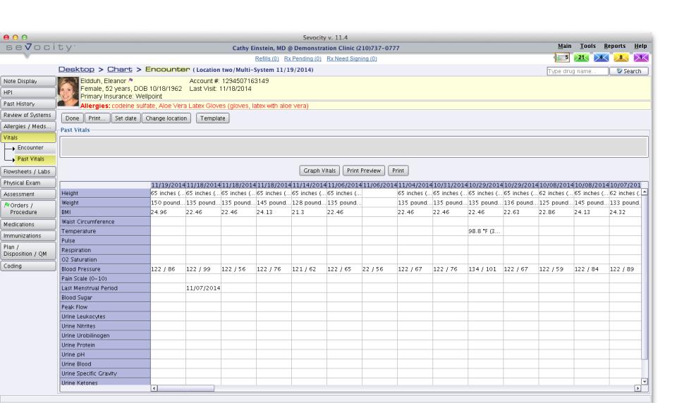 Sevocity EHR-pantalla-0