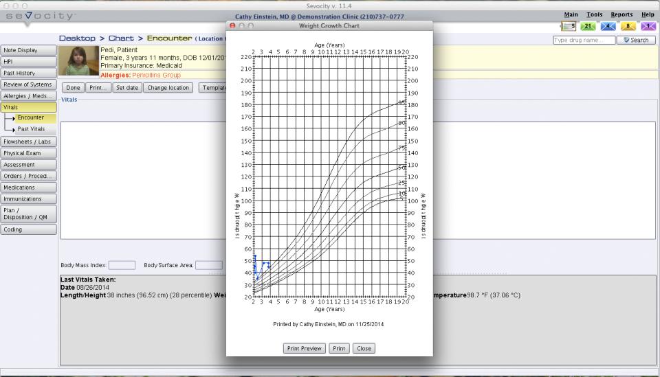 Sevocity EHR-pantalla-1