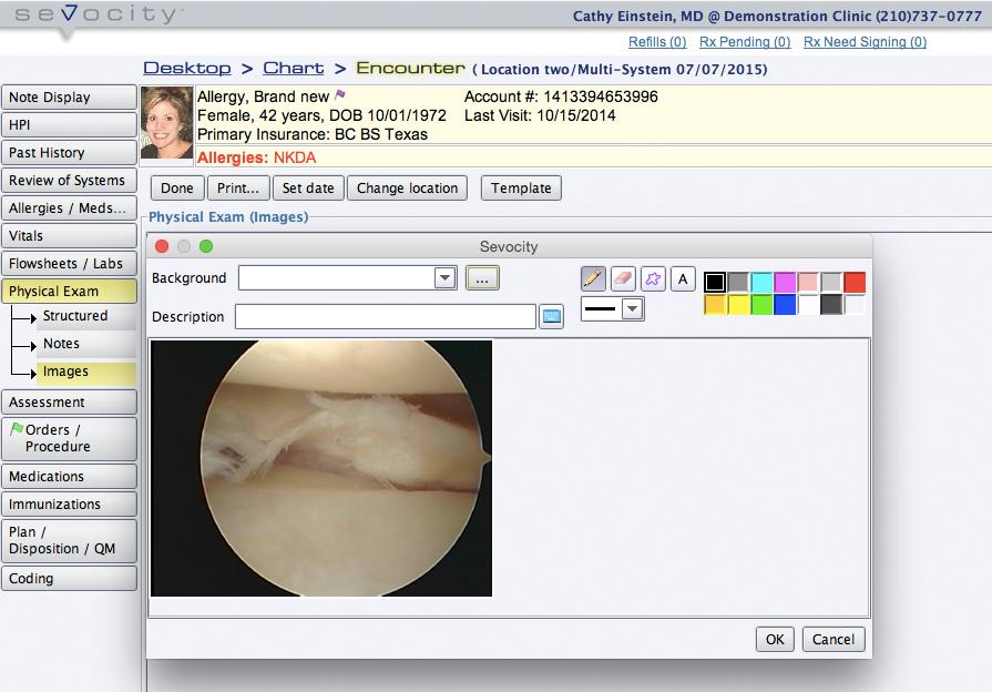 Sevocity EHR-pantalla-3
