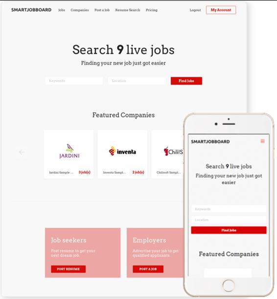 SmartJobBoard de pantalla-2
