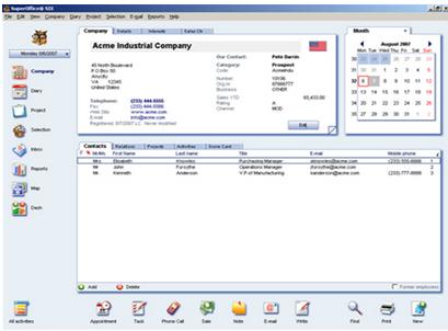SuperOffice CRM pantalla-0