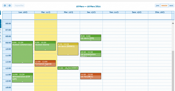 Póngase en contacto con la RCMP en el Calendario