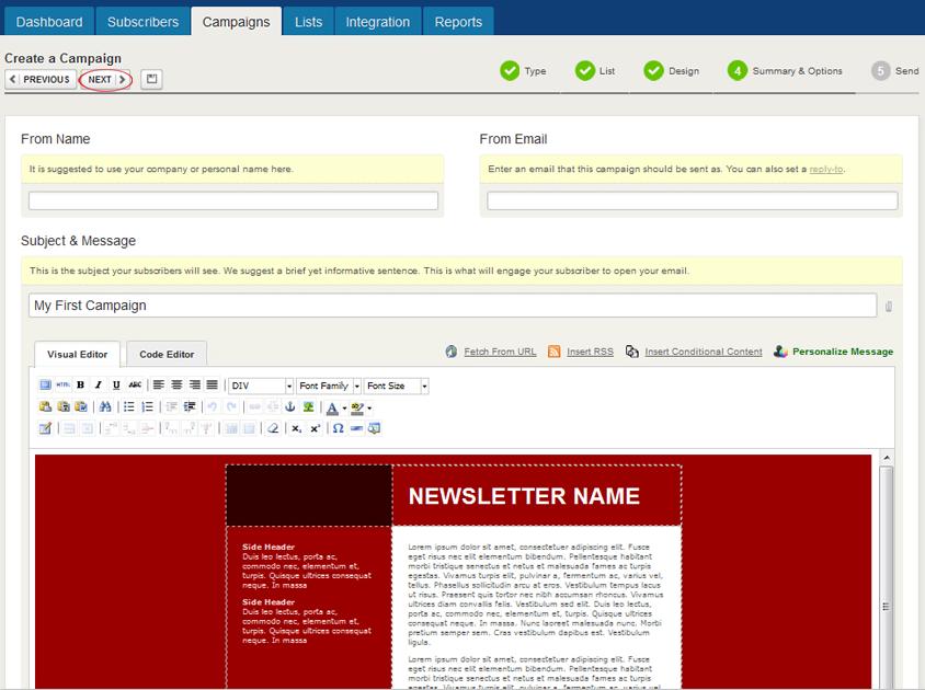 GeniusContacts: API de servicios web, integración con redes sociales, Plantillas de correo electrónico