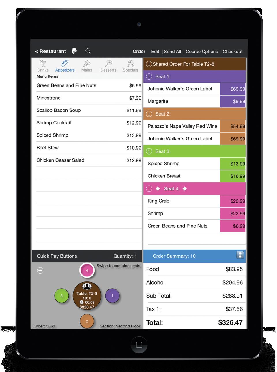 TouchBistro de pantalla-1
