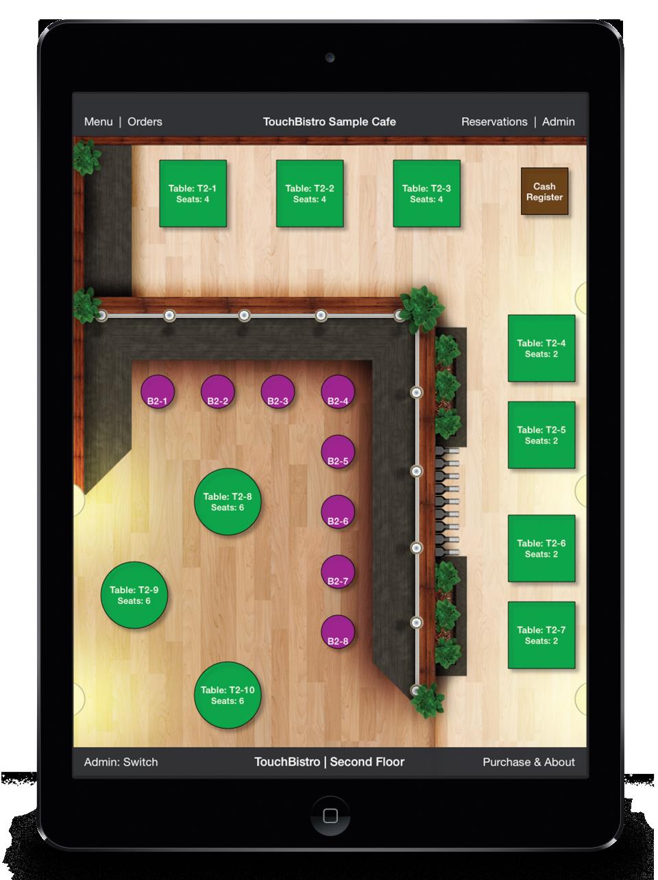 TouchBistro de pantalla-2