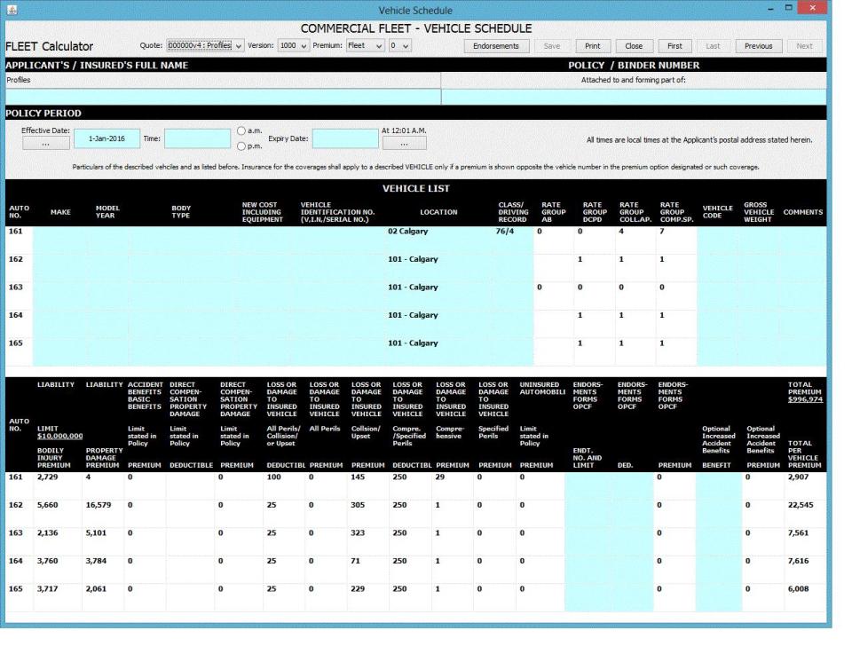 Ace Seguros Flota Clasificación de pantalla-4