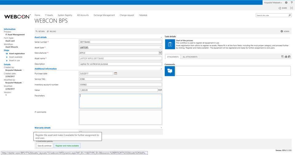 Webcon Business Process Suite-pantalla-1