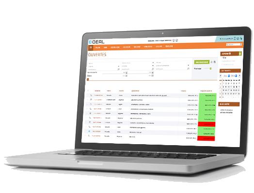 E-DEAL SERVICIO Gestión de solicitudes, solicitudes con sistema de alerta