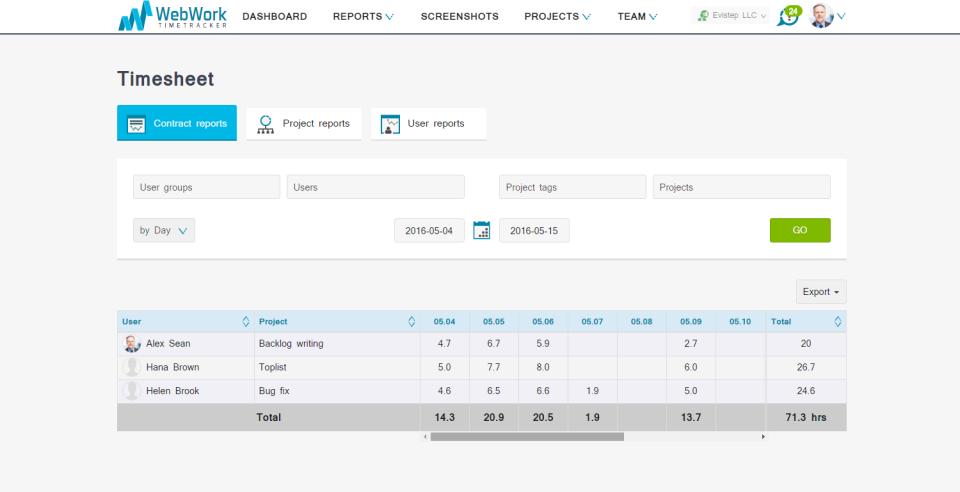 WebWork Time Tracker-pantalla-2