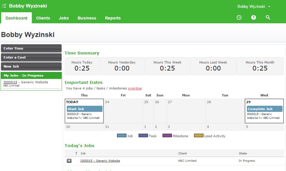 WorkflowMax de pantalla-1