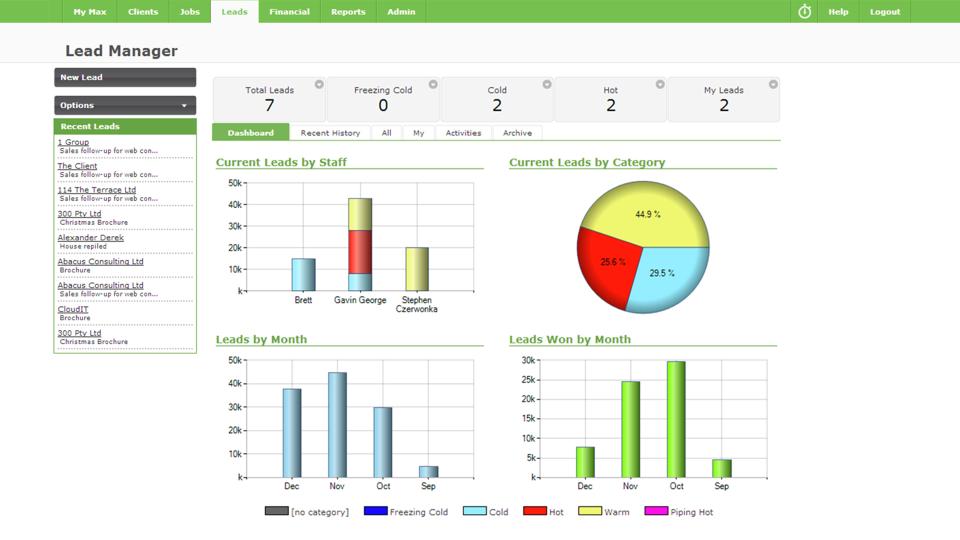 WorkflowMax de pantalla-4