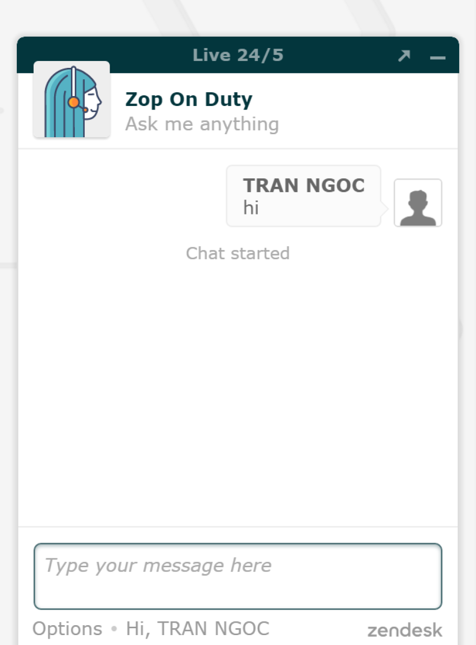 Zendesk chat-pantalla-4