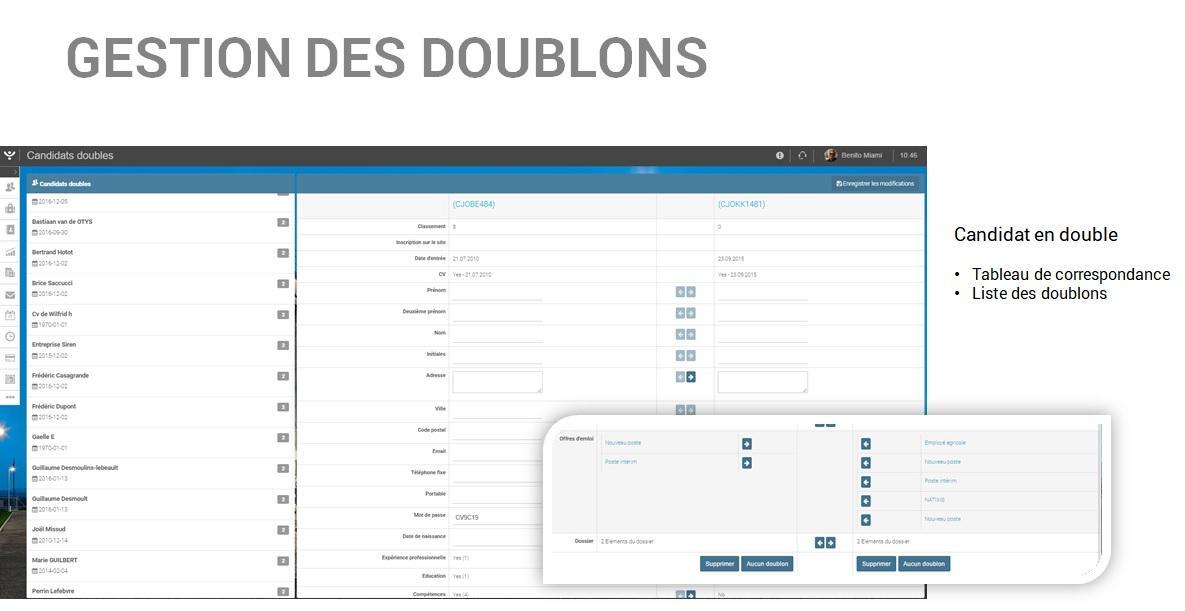 OTYS Recruiting Technology-Doublon
