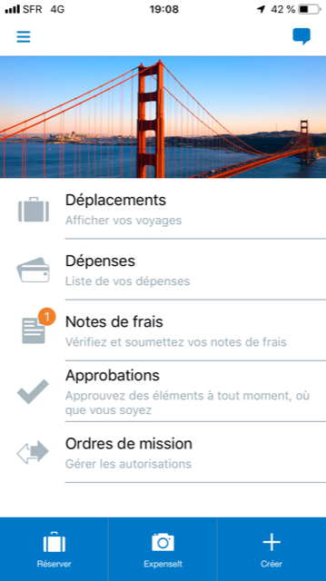 SAP Concur-screenshot mobile 1