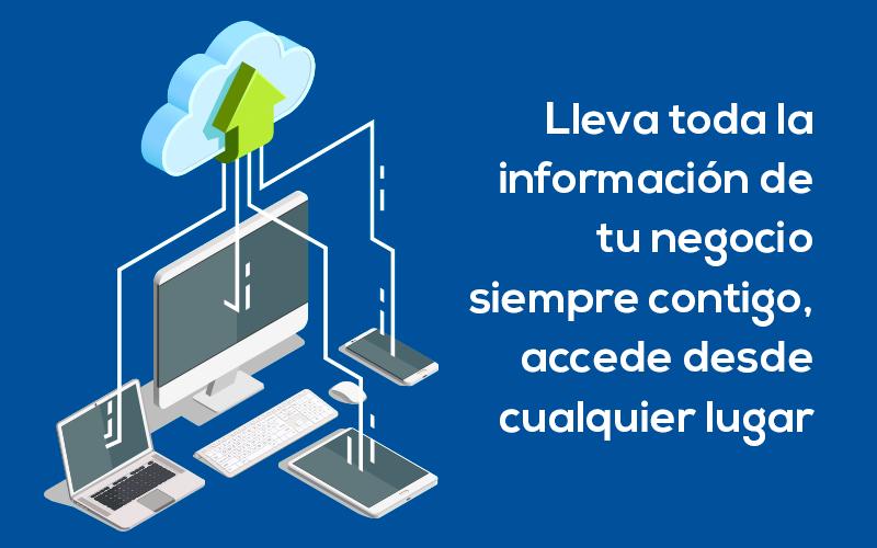 Lleva siempre contigo la información de tu negocio. Cloud Gestion es una aplicación online.