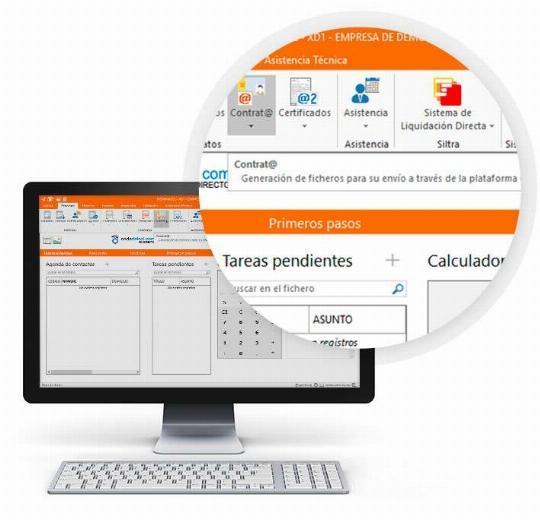 Contrat@, Certific@2, AEAT, WinSuite, SILTRA